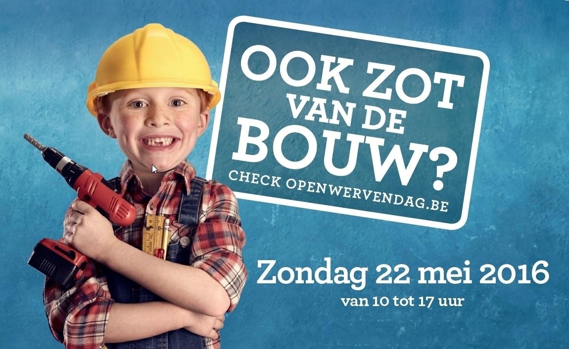 10de Open Wervendag is hét visitekaartje van Belgisch bouwsector