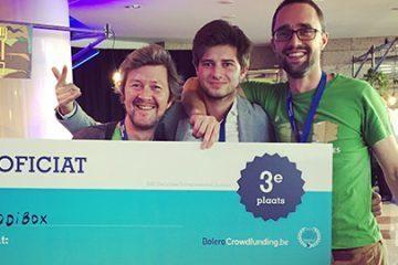Kodibox uit Gent derde beste beloftevolle start-up van het jaar