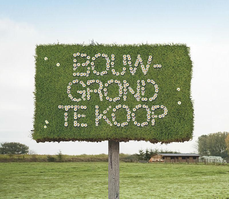 Recordprijs per vierkante meter voor bouwgrond in Vlaanderen