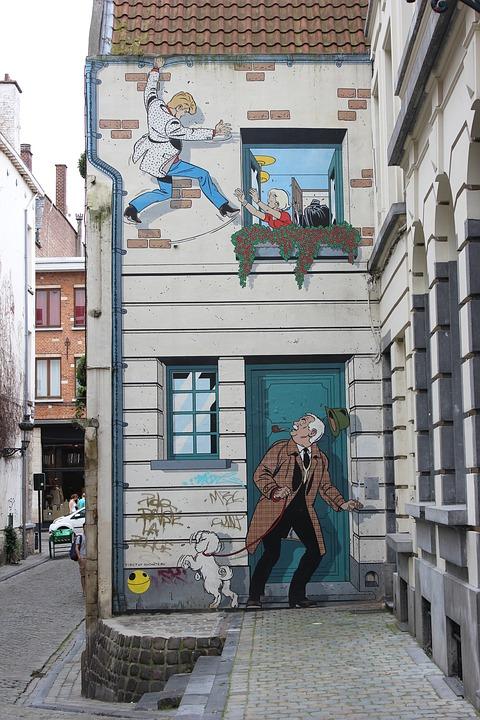 Brussel zoekt gevels voor street-art