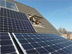 Zonnepanelen aanwezig bij twee op drie nieuwbouwwoningen